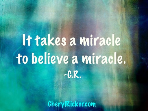 It Takes a Miracle